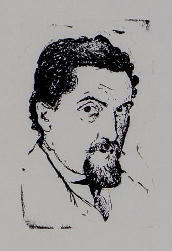 Autoportret - Solomon Sanielevici