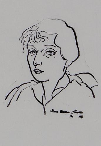 Autoportret - Maria Ciurdea Steurer
