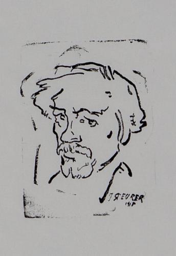 Autoportret - Iosef Steurer